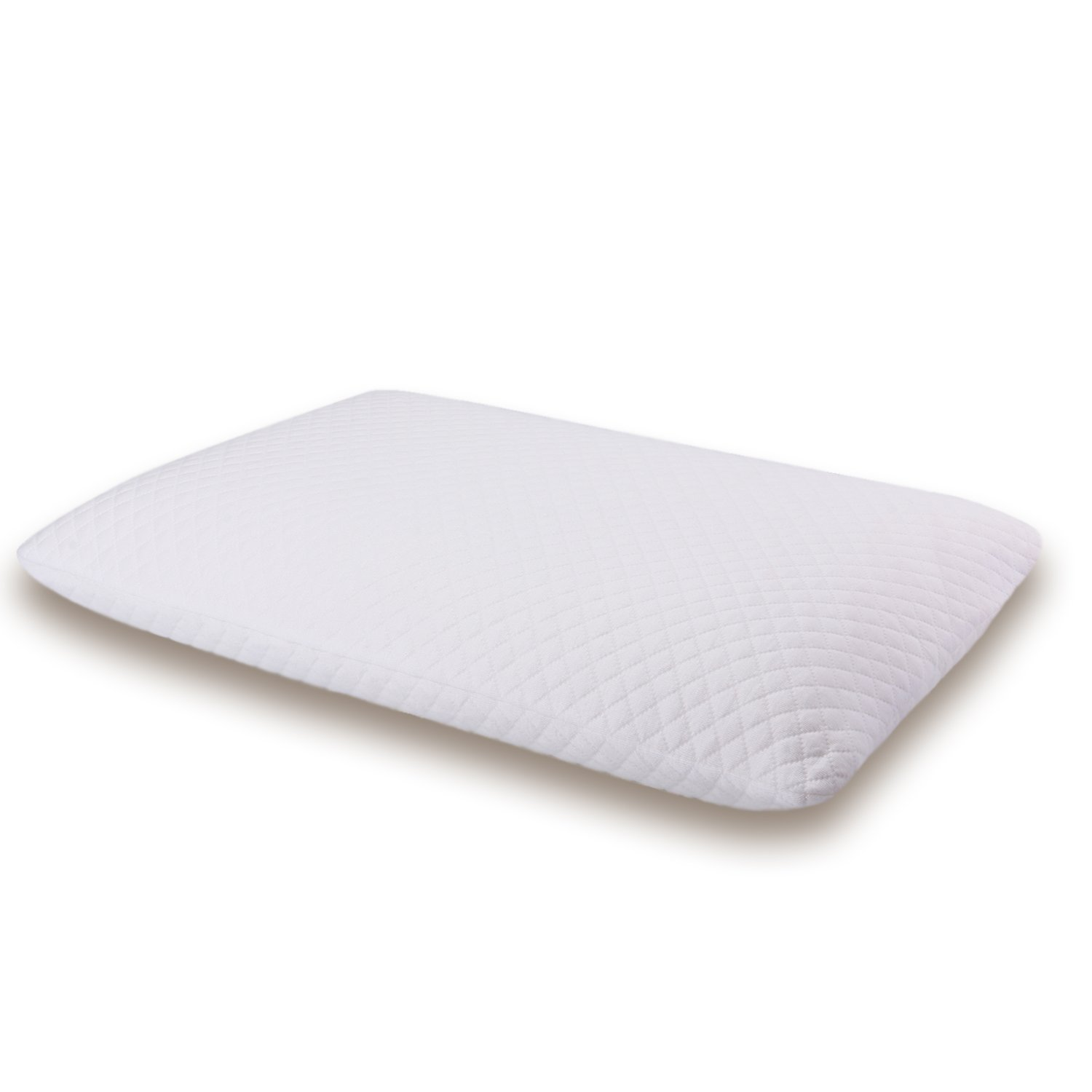 Memory Foam Bed Pillow for Sleeping Ventilated and AirCell Technology with Washable Cover by Thetis Homes