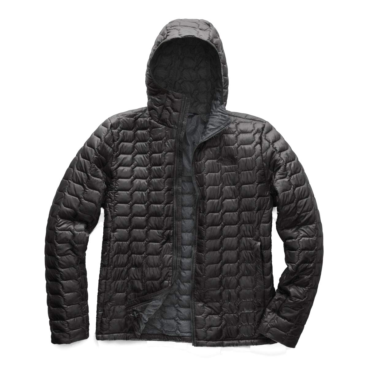 The North Face Men's Thermoball Hoodie Asphalt Grey/Asphalt Grey Small