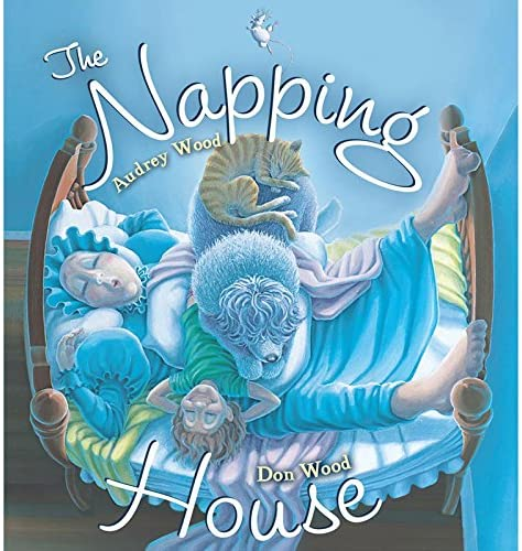 The Napping House Hardcover Childrens Book