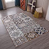 Retro Home Rugs National Flavor - MeMoreCool Eleven Patterns No Fading Anti-slipping Beautiful Patterns Living Room Tea Table Carpets 47 X 71 Inch