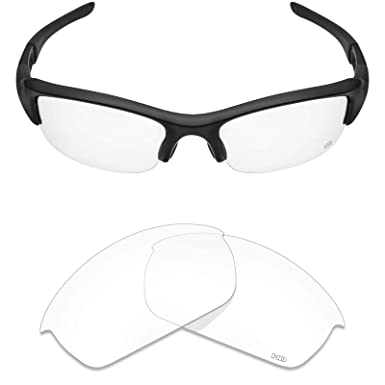 30bc50233d Mryok+ Polarized Replacement Lenses for Oakley Flak Jacket - HD Clear