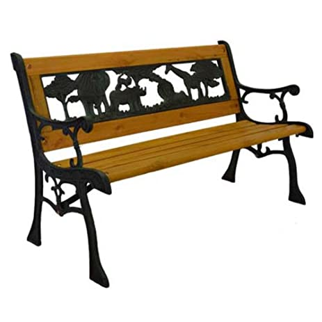 Elegant Home And Garden HGC Junior Safari Kids Park Bench