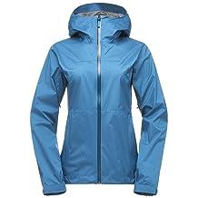 Black Diamond Stormline Stretch Rain Shell Jacket - Women's Aegean X-Small