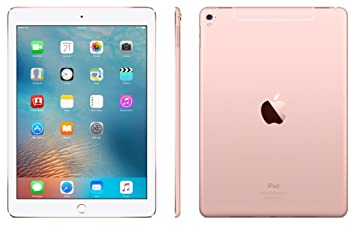 Apple IPad Pro Tablet (9.7 inch, 128GB, Wi-Fi+ 3G) Rose Gold Tablets at amazon