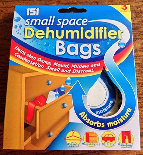 2x bolsas Deshumidificador Espacio Pequeño (3Pack)