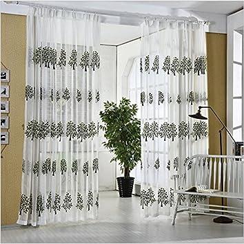 Vorhänge Fenster Sichtschutz Verdunkelung Polyester Schlafzimmer Wohnzimmer  Balkon Stickerei Balkon Stoff