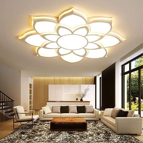 Joey Luces de techo de cristal 2018 LED para sala de estar ...