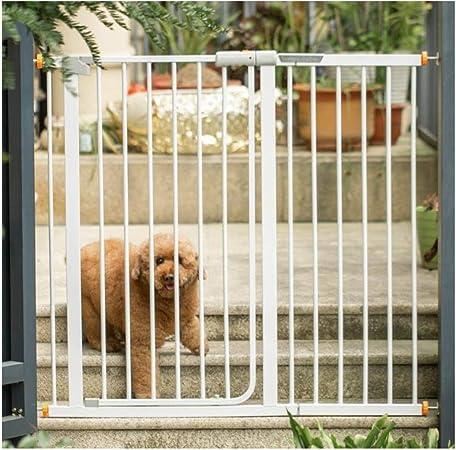 Huo Barrera de Seguridad Escalera Barandilla de Bebé Cubierta Perro Barandilla Valla Niño Aislamiento Mascotas Cerca del Perro Universal Puerta (Size : 153-160cm): Amazon.es: Hogar