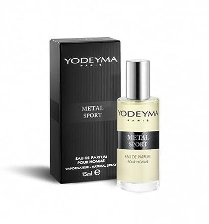 Perfume para hombre Yodeyma Metal Sport, 15 ml
