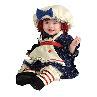 Yarn Babies Ragamuffin Dolly Infant/Toddler Costume: Clothing