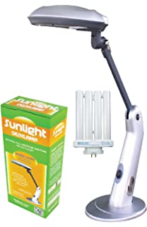 Sunlight Desk Lamp Natural Full Spectrum Sun Light. Simulates Daylight. 27  Watts Power Usage