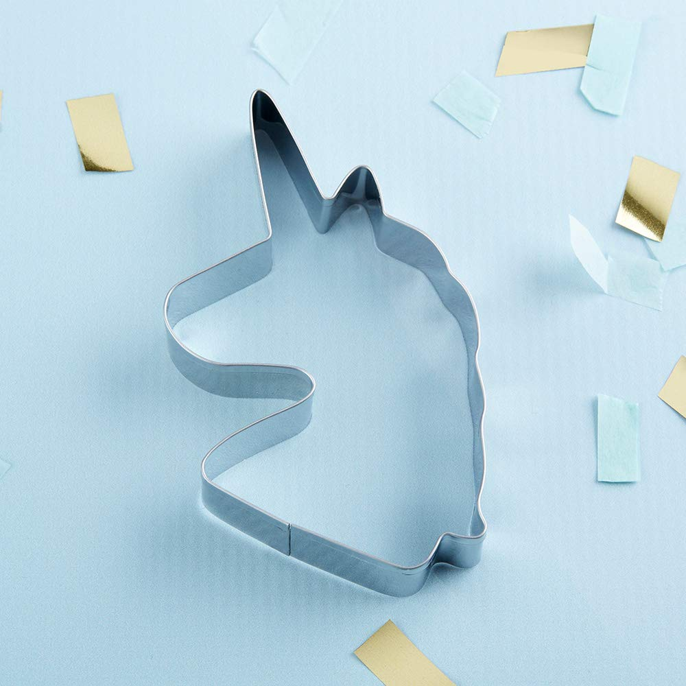 Kate Aspen 14134NA Unicorn, Party Favor or Gift cookie cutter 0 silver by Kate Aspen (Image #3)