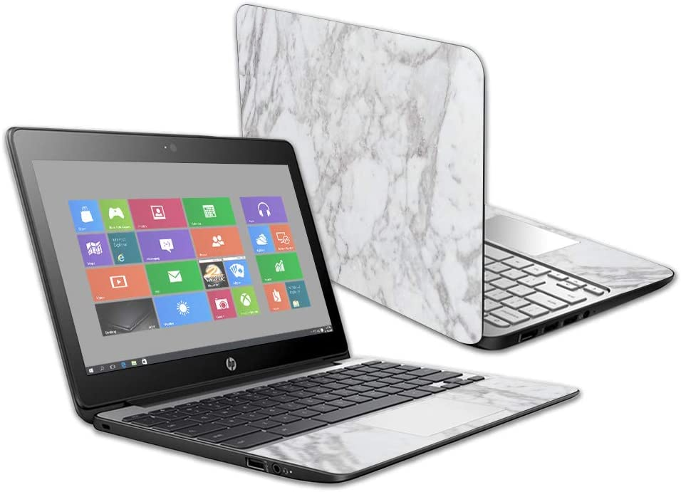 """Mightyskins Skin Compatible with Hp Chromebook 11 G5 11.6"""" - Frost Marble 