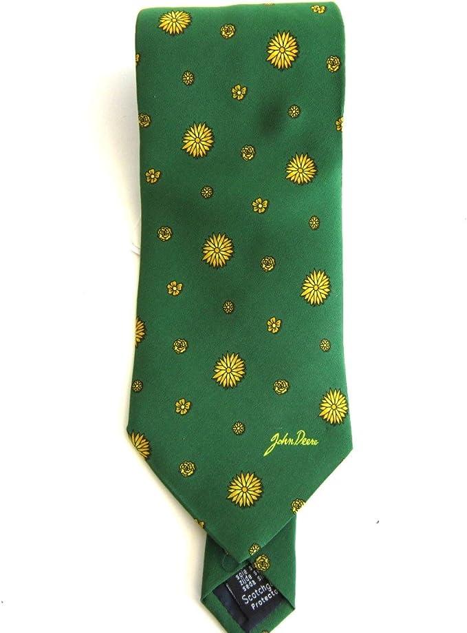 John Deere Corbata verde con girasoles: Amazon.es: Ropa y accesorios