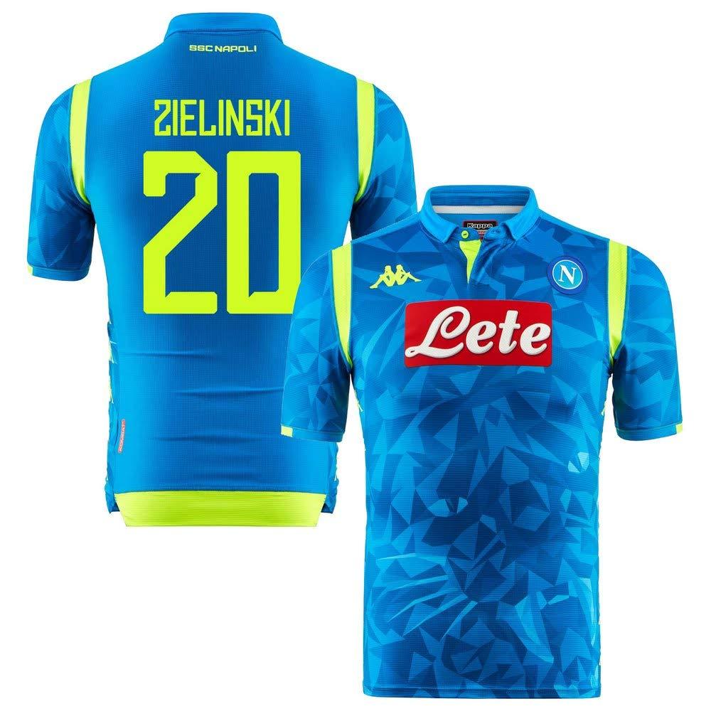 Neapel Champions League Match Trikot 2018 2019 Zielinski 20
