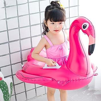 Unicorn Flamingo bebé unicornio flotador de agua flotador asiento inflable flotador piscina piscina inflable de juguete serie bebé para niños disfrutar de ...