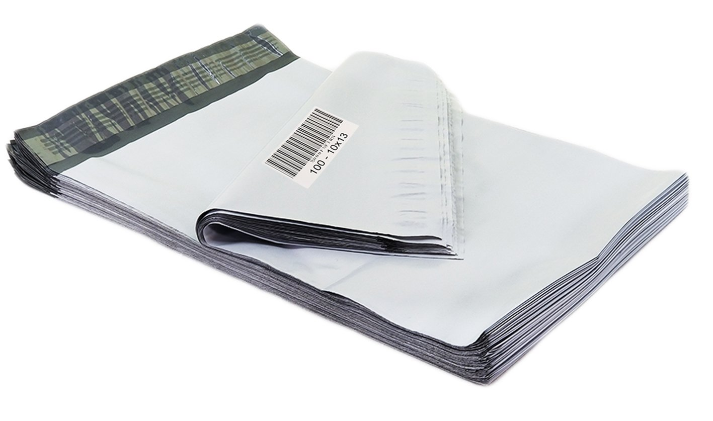 Sobres plastico con cierre x 100 (25x33cm)Poly Mailers