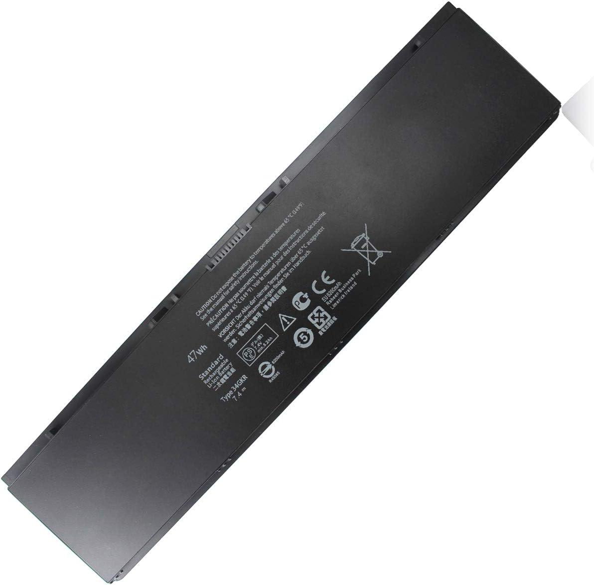 E7440 34GKR Laptop Battery Compatible with Dell Latitude E7420 E7450 7440 7450 E225846, 3RNFD PFXCR F38HT G0G2M T19VW 5K1GW 909H5 0909H5 G95J5 0G95J5 V8XN3 451-BBFT 451-BBFV 451-BBFY