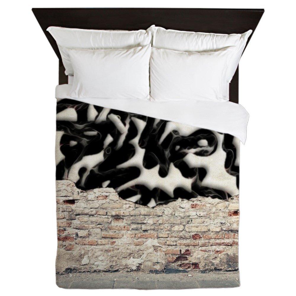 CafePress - Graffiti - Queen Duvet Cover, Printed Comforter Cover, Unique Bedding, Microfiber