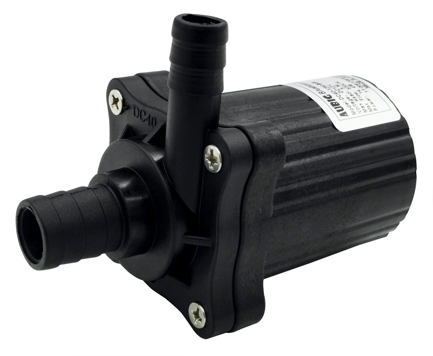 Aubig DC40-1250 DC12V Brushless Magnetic Drive Centrifugal Submersible Water Pump CPU Cooling 1.2A 520L/H 5.0M 14.40W