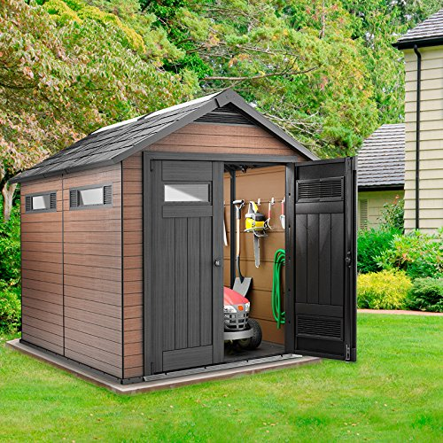 keter fusion 7 ft 6 x 9 ft 6 - Garden Sheds 7 X 9