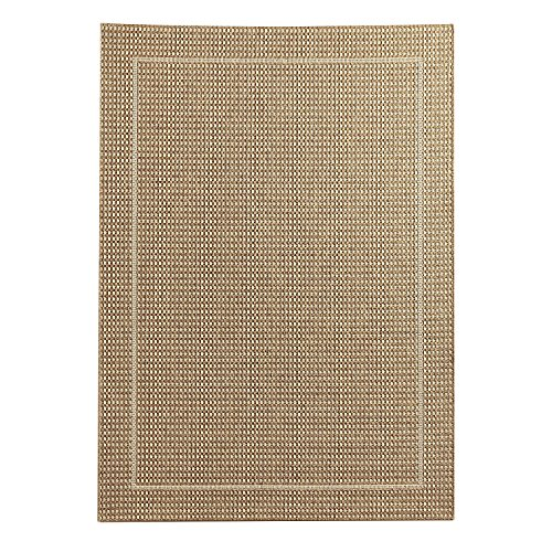 Pier 1 Imports Dobby Flat-Weave Tan 5'2