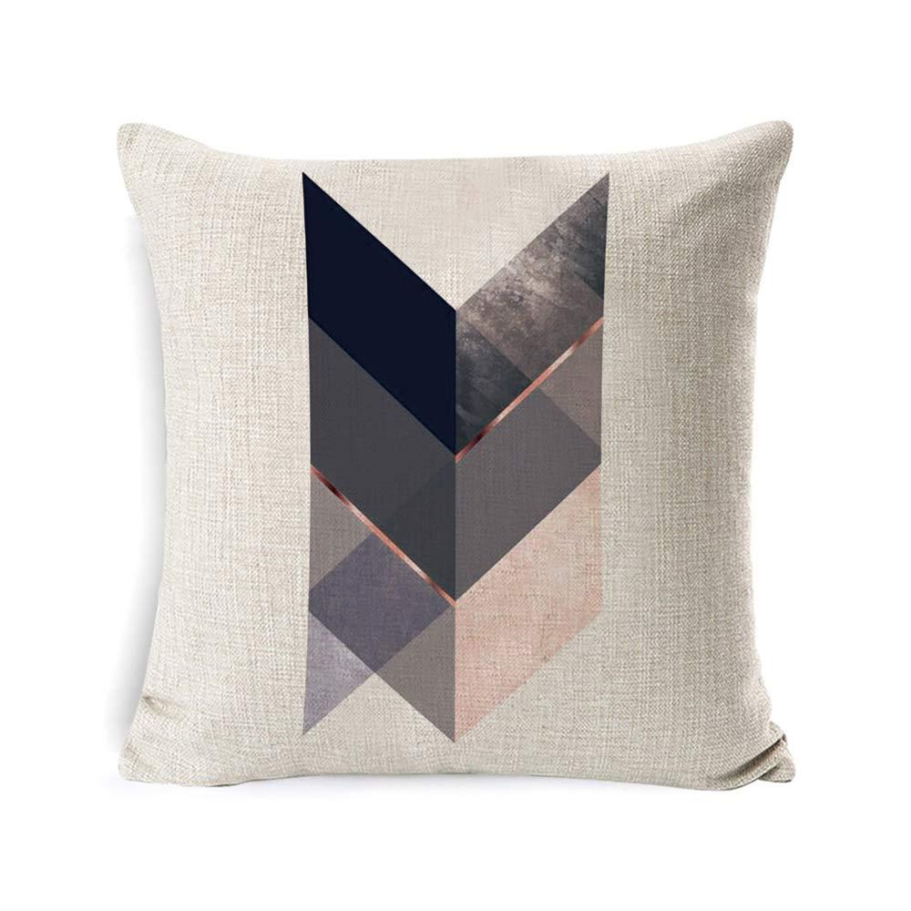 Amazon.com: Inshere - Funda de almohada rústica de lino y ...