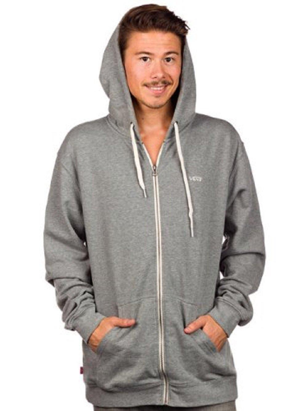 Vans Men's Core Basics Zip II Long Sleeve Hoodie