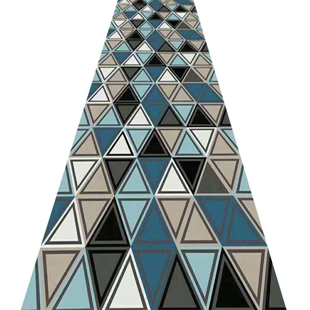 KKCF 廊下のカーペット流さない耐摩耗性洗える消えないで折りやすいブレンド 、複数のサイズ (サイズ さいず : 1.6x7m) 1.6x7m  B07QGRB37C