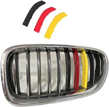 BMW Grille Insert Trim Strip E46 M Grille Stripe for BMW 2013-2018 3 Series 8-Beam Grille Insert BMW Grille Stripes