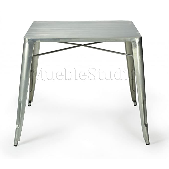mueblespacio Replica Mesa Tolix Acero - MSD15409410 - galvanizado ...