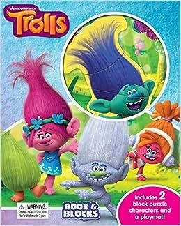 Dreamworks Trolls Book Blocks Phidal Publishing Inc 9782764333860 Amazon Com Books