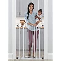 Regalo Easy Step Extra Tall Walk Thru Baby Gate, Includes 4-Inch Extension Kit, 4 Pack of Pressure Mount Kit and 4 Pack…