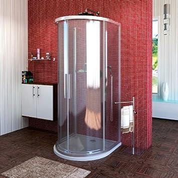 cabine de douche 1/2 cercle