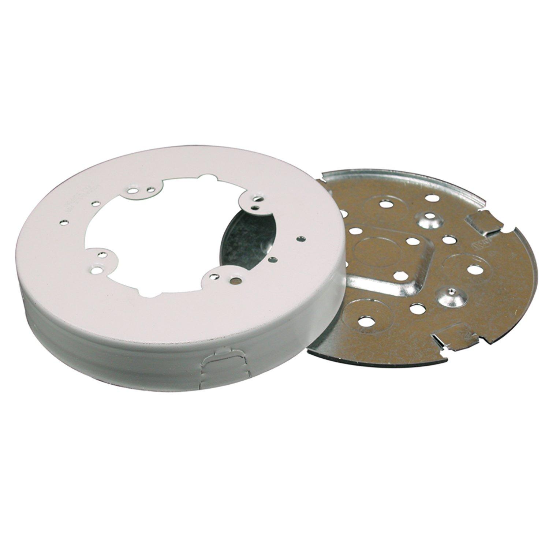 Amazon.com: Legrand - Wiremold BW4F Metal Raceway Circular Fan Box ...