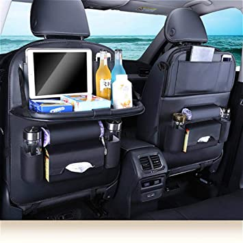Kwolf Car Seat Back Organizer Universal Multifunctional Waterproof OrganizerCar Front