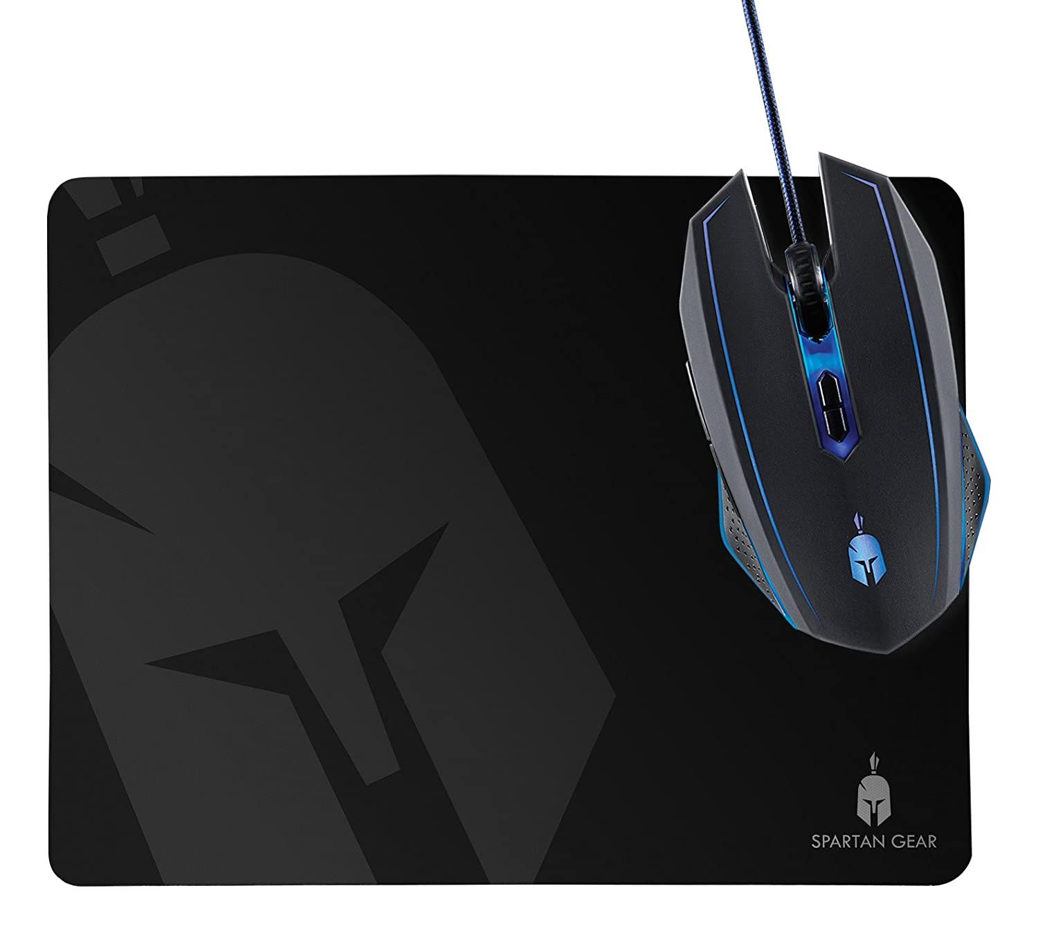 Spartan Gear Gaming Mouse Wired Plus Mousepad Phalanx (Electronic Games)