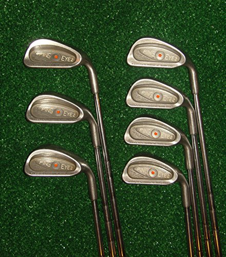 Ping Eye 2 Right-Handed Iron Set Steel Stiff (Golf Ping Irons)
