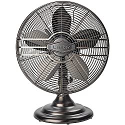 Lasko R12210 12 Metal Table Fan