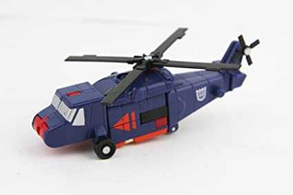 Amazon Com Blue Helicopter Transformers Toy Figure Vintage