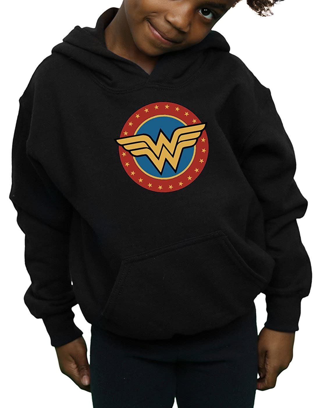 DC Comics Girls Wonder Woman Circle Logo Hoodie