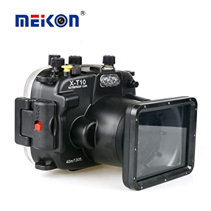 Meikon - Carcasa Impermeable para cámara Fujifilm (Sumergible ...