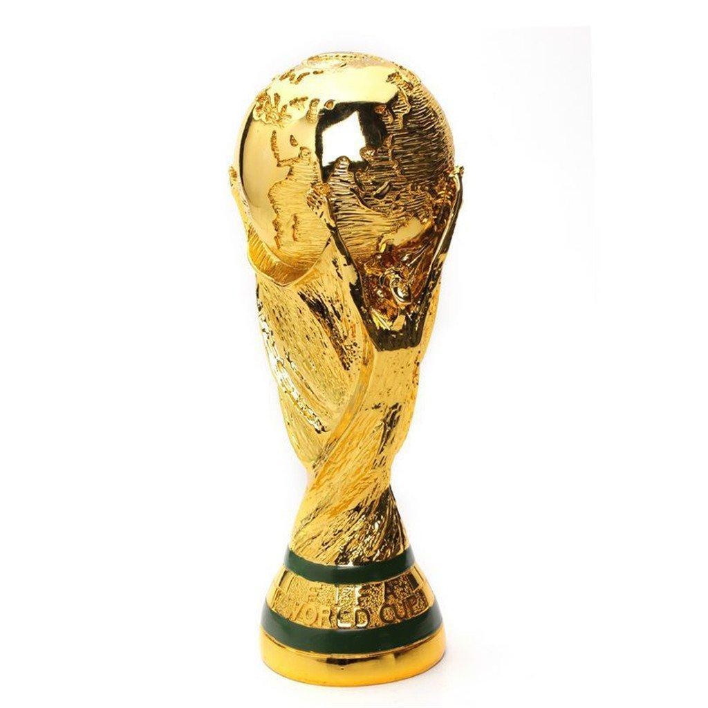 2018ワールドカップ ワールドカップ トロフィー レプリカ 4サイズあります! 置物 雑貨 World Cup ガンバレ日本代表! ワールドカップトロフィーレプリカ 人気グッズ 応援グッズ ギフト (L) B07DFGMSRRLarge