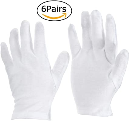Guantes hidratantes de mano GreeStore de algodón para cosméticos ...