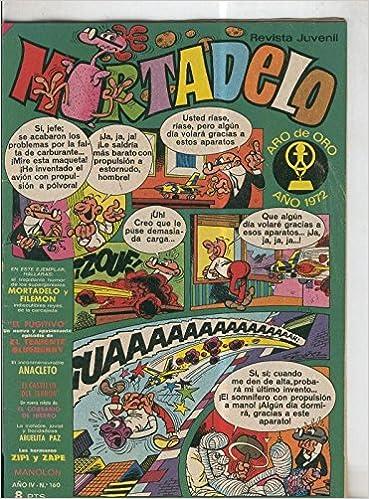 Amazon.com: Mortadelo revista semanal numero 160: Varios: Books