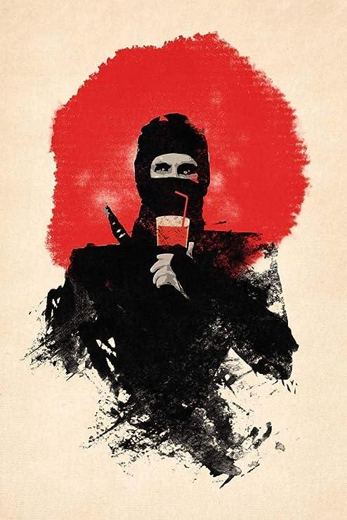 Amazon.com: American Ninja by Robert Farkas Art Print, 19 x ...