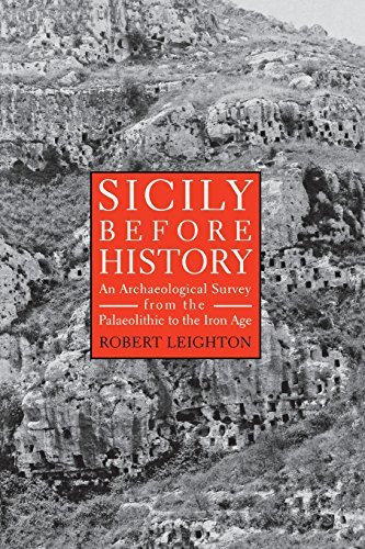 Sicily Before History: An Archeological Survey from the Paleolithic to the Iron - Erwin Bunker
