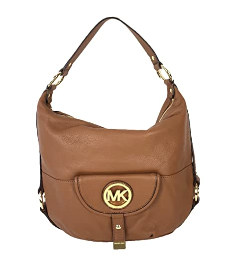 MICHAEL Michael Kors Fulton Large Shoulder Bag (Luggage