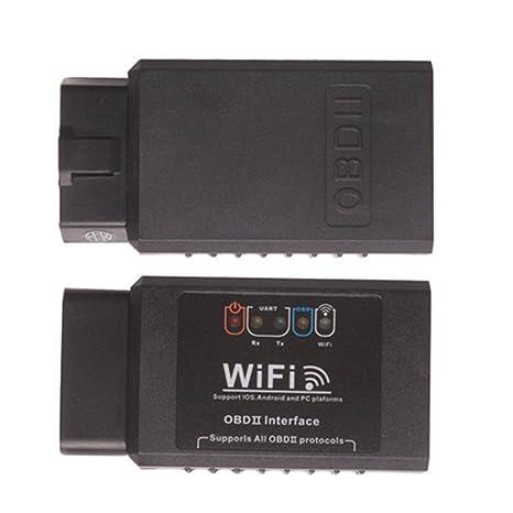 zhenbaotian ELM327 WIFI OBD2 EOBD herramienta de diagnóstico Can de Support Android y iPhone/iPad