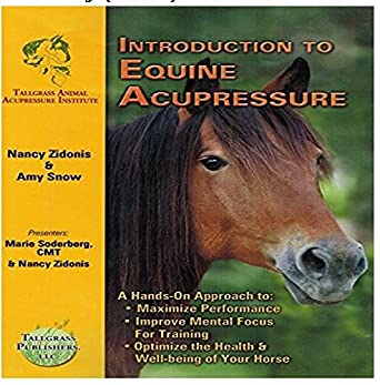 Amazon com: Introduction to Equine Acupressure - DVD: Nancy
